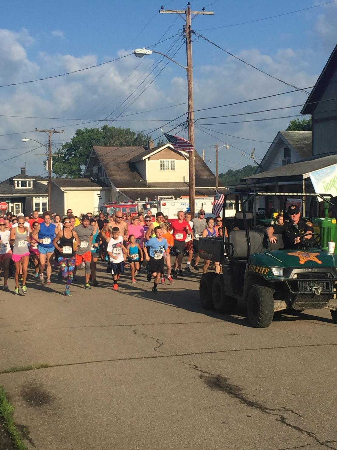Race recap: Ohio Hills Folk Festival 5k &10k