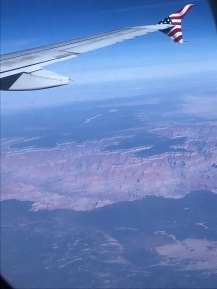The Grand Canyon from my Virgin America flight.