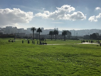 A park in Fort Mason.
