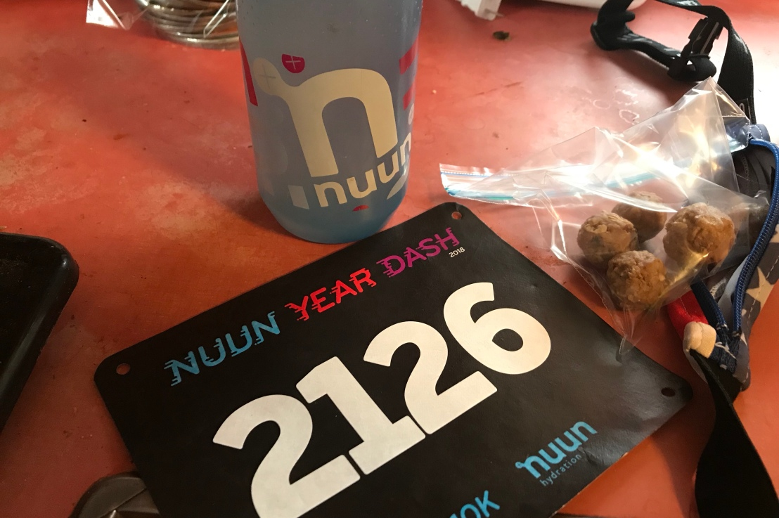 Virtual race recap: Nuun Year Dash