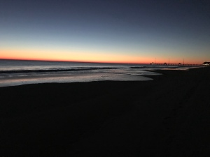 Sunrise at the Outer Banks.