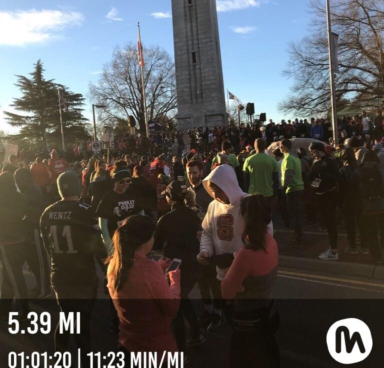 Race recap: Krispy KremeChallenge
