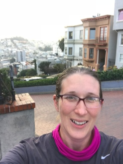 Through Charity Miles, I went on my first trip to the West Coast, to San Francisco.