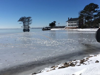 Winter on the water.