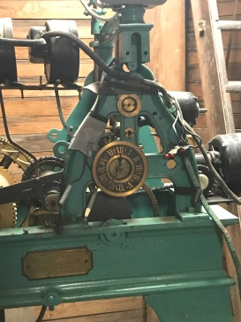 This machine helped run the courthouse clock.