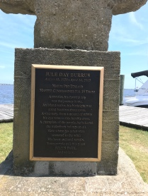 This plaque describes a pretty cool mayor pro tem who thought the waterfront belonged to all.