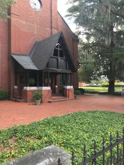 Several buildings have a Swiss motif, such as Christ Episcopal Church in downtown New Bern.