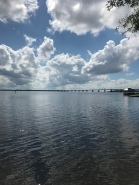 This bridge carry several interstates over water in New Bern.